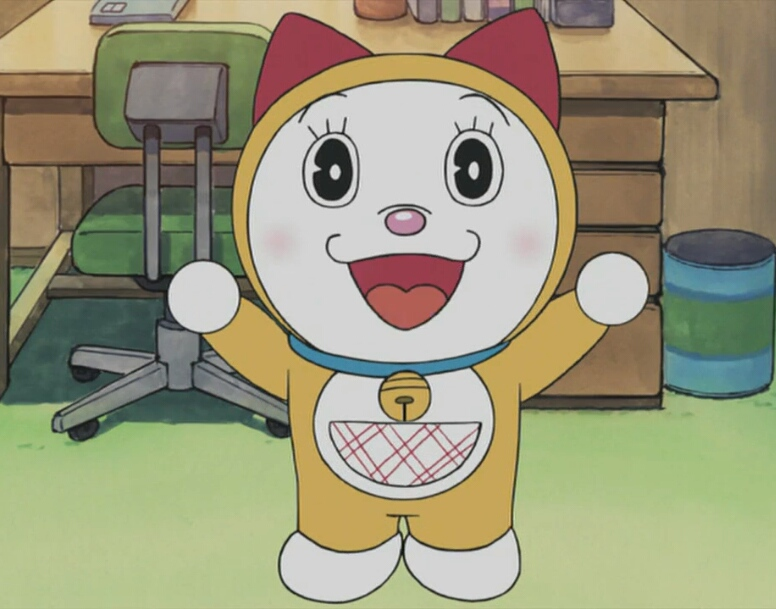 Doraemon - The first appearance of Doraemon, who came via the time machine.