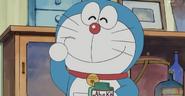 Doraemon applies Abeko Cream