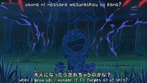 Tmp Yume wo Kanaete Doraemon opening 3 Doraemon 2005 Anime TV ASAHI, ADK 13-1854350104