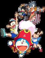Doraemon Characters 2018 Movie