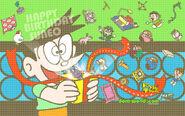 Happy Birthday Suneo (Wallpaper) Doraemon Channel