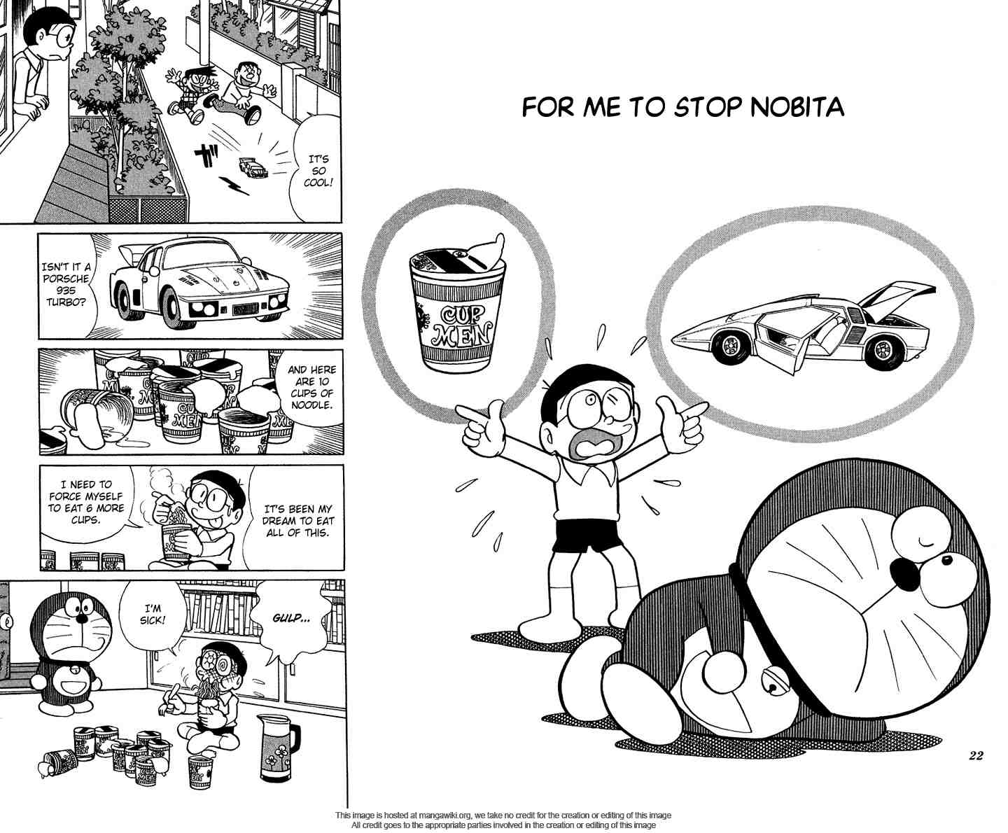 Doraemon+ (Plus) Volume 1, Chapter 3: For Me To Stop