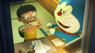 Stand by Me Doraemon Chapter 3 Nobita using Memory Bread