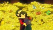 Shizuka hugs nobita