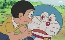 Nobita discourages Doraemon (Denja)