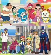 Doraemon Nobita no Himitsu Dogu Museum All Characters Movie 2013
