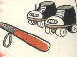 巡邏溜冰鞋