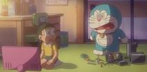 Doraemon (Denja) upgrading the Air Cannon