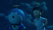 Stand by Me Doraemon Chapter 2 Doraemon and Nobita using Take-copter