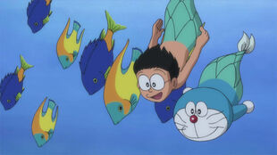Nobita Mermaid Legend