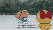 Doraemon and Nobita weak of cold