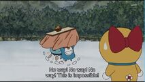 Doraemon and Nobita weak of cold