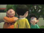 Gian and Suneo with Nobita StandByMeDoraemon