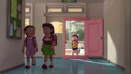 Stand by Me Doraemon Chapter 3 Nobita uses DokoDemo Door