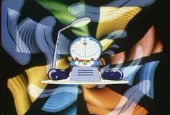Doraemon maquina do tempo