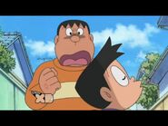 Gian angry at Suneo