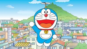 Doraemon Flying