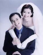 于正昌楊凱凱結婚照
