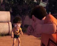 Nobita vs. Gian in Stand by Me Doraemon