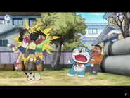 Shizuka Nobita and Suneo crash