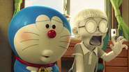 Stand by Me Doraemon Chapter 4 Nobita white with shock