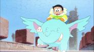 Kachi Kochi 2017 21 Nobita riding fushigi animal
