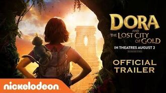 Dora & the Lost City of Gold Official Trailer Dora the Explorer Nick