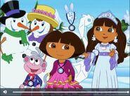 Dora The Explorer Dora Boots and Snow Princess