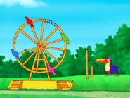 Dora-Senor-Tucan-ferris-wheel
