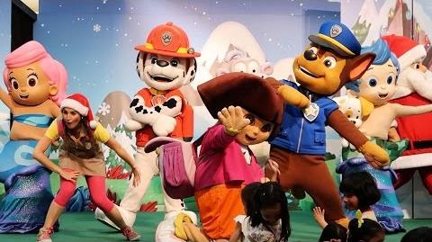 Nick Jr - A Present for Santa Live (Paw Patrol, Dora The Explorer, and Bubble Guppies)