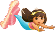 Dora-mermaid
