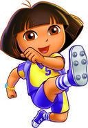 Dora Soccer outift