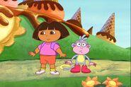 Dora-Boots-ponder-at-Coney-Island