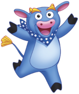 Dora the Explorer Benny the Bull Nickelodeon Nick Jr. Noggin Character Image 4