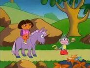 Senor Burro Giving Them A Ride
