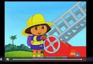 Dora The Explorer Firefighter Dora
