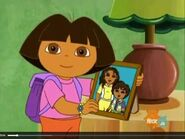 Dora The Explorer Dora's picture of Daisy and Diego