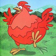 Dora-Big-Red-Chicken-footprints