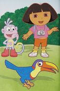 Dora-Senor-Tucan-illustrated