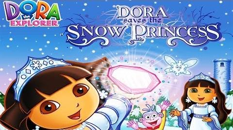 Dora The Explorer Dora Saves The Snow Princess