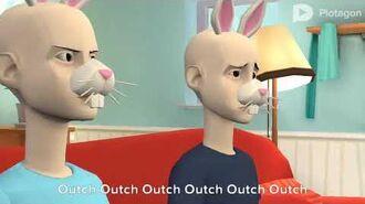 Rebecca Rabbit Beats Up Richard Rabbit Grounded