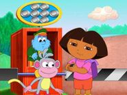 Dora At The Toll Gate