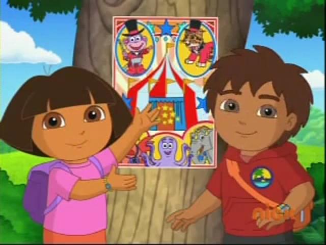 Dora Amp Diego S Amazing Animal Circus Adventure Dora The