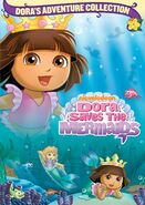 Dora the Explorer Dora Saves the Mermaids DVD 2