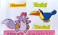 Dora-Senor-Tucan-Tico-magnets