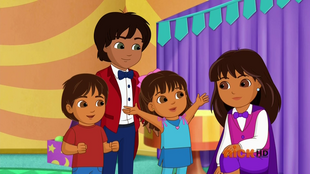 Dora & Friends Magic Land Guillermo & Isabella