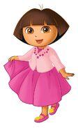 Dora pink dress