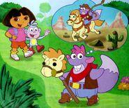 Dora-Tico-cowboy