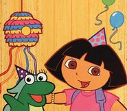 Dora-Isa-party