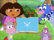 Dora The Explorer Dora Saves The Snow Princess Dora Boots Isa Benny Tico and Snow Fairy